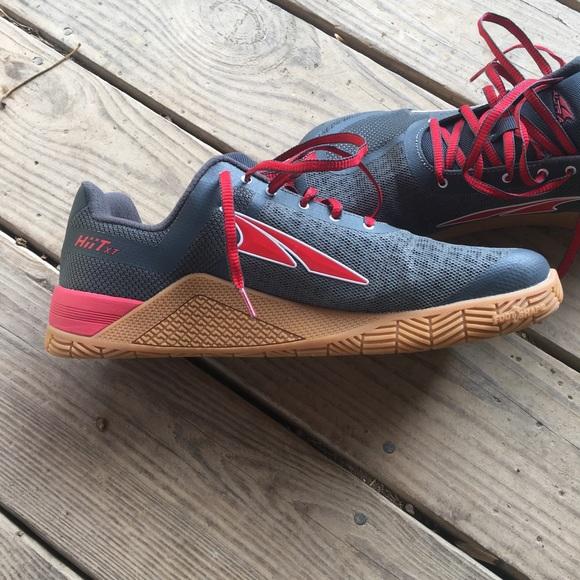 Altra Shoes Altra Hiit Xt Redgrey Crossfit Shoe Poshmark